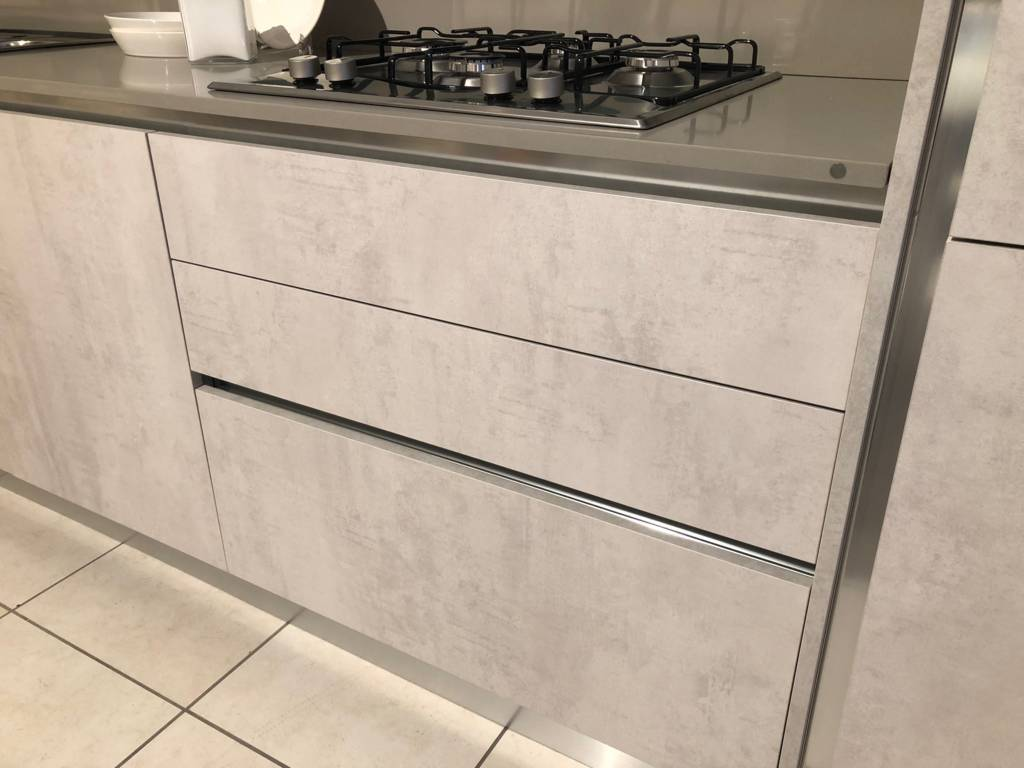 Cucina Creo Kitchens Mod. Tablet Neck Fiera 2